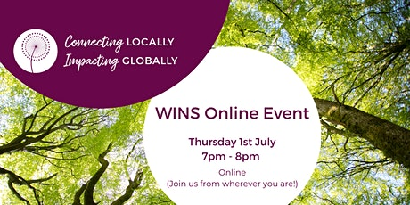 WINS Online: Connecting Locally, Impacting Globally - evening tickets