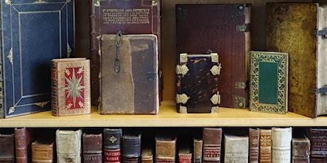 UCL Rare-Books Club 2021: women writers  pre-1750 & Victorian flower-books tickets
