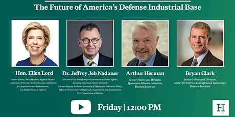 Virtual Event | The Future of America's Defense Industrial Base tickets