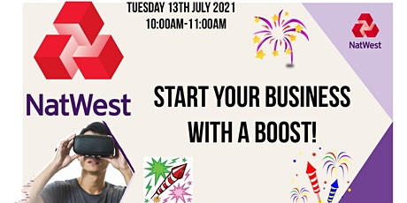 Start your business with a Boost! tickets