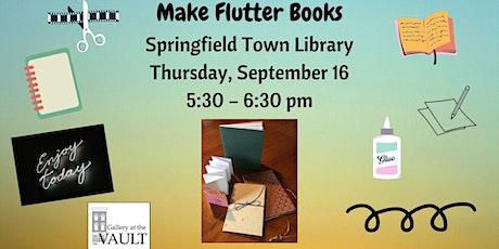 Make Flutter Books tickets