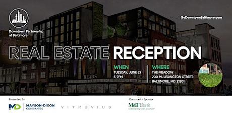 Real Estate Reception tickets