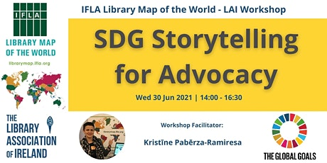 Sustainable Development Goals (SDGs) Storytelling for Advocacy tickets