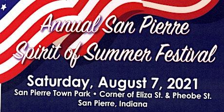 San Pierre Spirit of Summer SPPRS, 5k, 10k, Corn Hole tournament & Car Show tickets