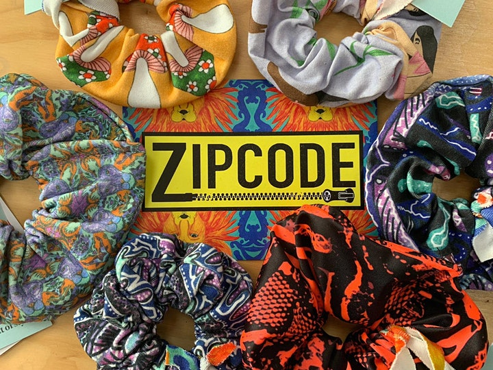 Sustainable Scrunchie Sewing with Studio Zipcode image