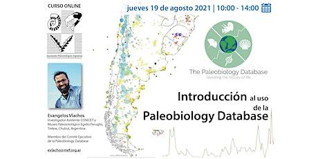 Introducción al uso de la Paleobiology Database entradas