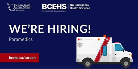 BCEHS Virtual Information Session tickets