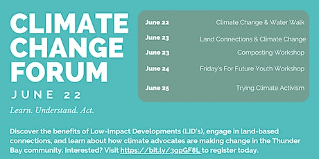 Climate Change Forum  - Climate Change & Water Walk tickets