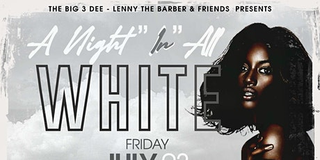 """Pop Up Brunch Series  """"A Night In All White"""" Edition tickets"""