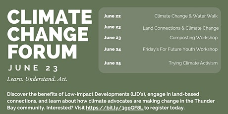 Climate Change Forum  - Land Connections & Climate Change tickets