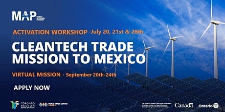 Cleantech Mission to Mexico tickets