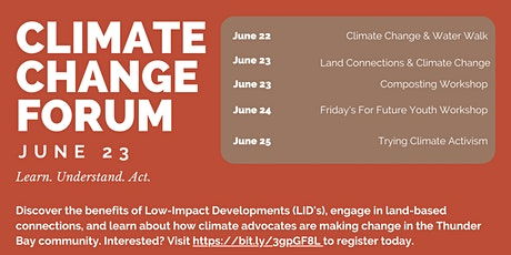 Climate Change Forum - Composting Workshop tickets