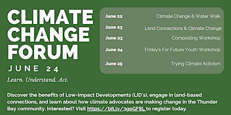 Climate Change Forum - Youth Workshop billets
