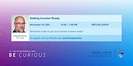 Getting Investor Ready tickets