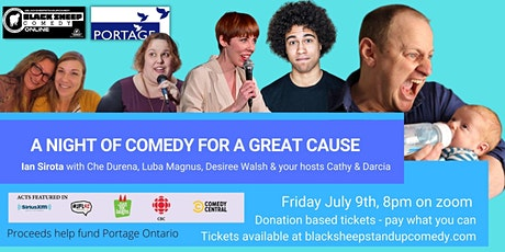 Black Sheep Comedy Online Featuring Ian Sirota in Support of Portage tickets