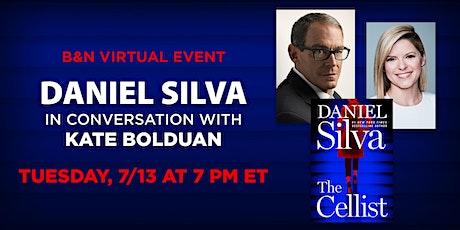 B&N Virtually Presents: Daniel Silva discusses THE CELLIST! tickets