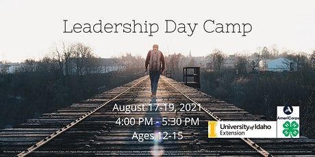 Leadership Day Camp tickets