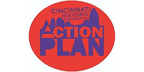 Cincinnati Historic Preservation Action Plan: Virtual Session tickets