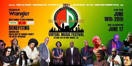 Wrangler Presents  National  Juneteenth Virtual  Music Festival tickets