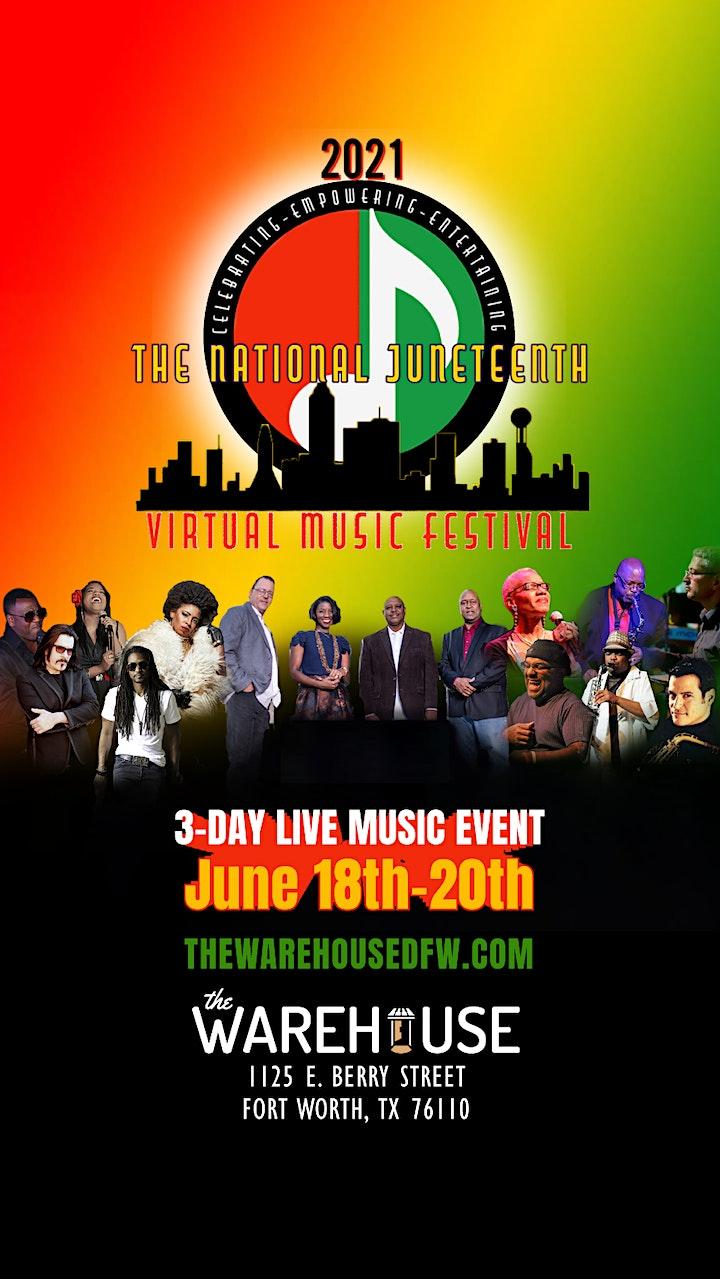 Wrangler Presents  National  Juneteenth Virtual  Music Festival image