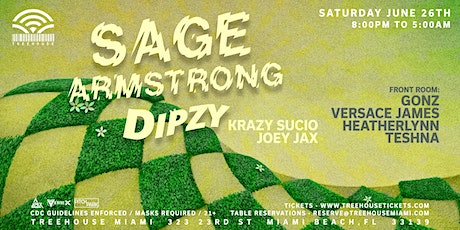 SAGE ARMSTRONG @ Treehouse Miami tickets