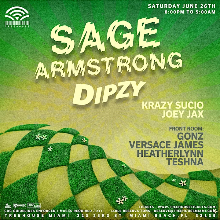 SAGE ARMSTRONG @ Treehouse Miami image
