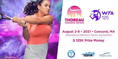 The Thoreau Tennis Open tickets