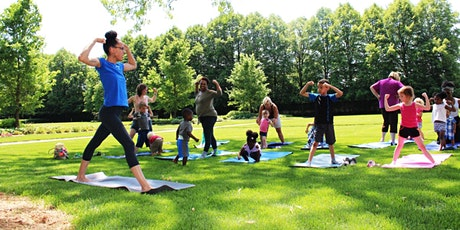 Youth Community Yoga In The Park tickets