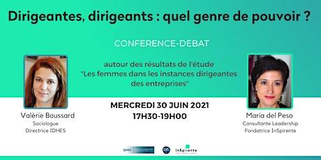 DIRIGEANTES, DIRIGEANTS : QUEL GENRE DE POUVOIR ? billets