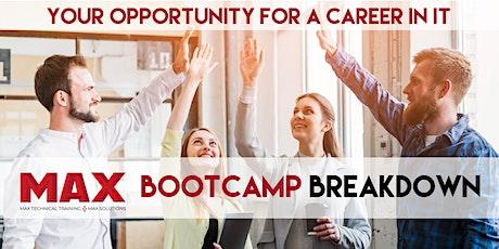 Coding & Career Bootcamp Breakdown | Virtual Open House ingressos