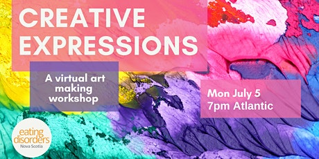 Creative Expressions: A Virtual Art-Making Workshop tickets