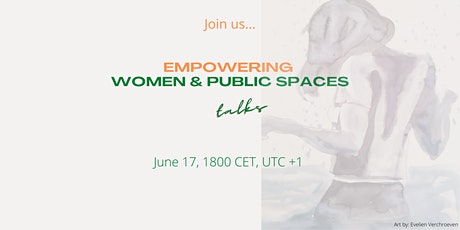 EMPOWERING WOMEN AND PUBLIC SPACES TALKS (2) tickets