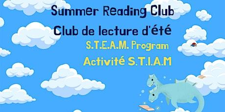Thursday SRC S.T.E.A.M program / Activité S.T.I.A.M. (jeudi) tickets