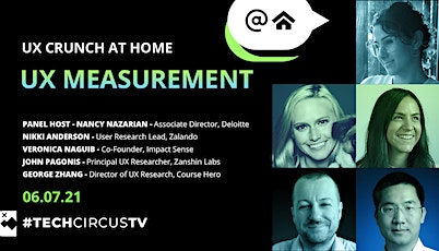 UX Crunch at Home - UX Measurement tickets