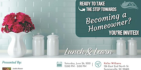 First Time Home Buyer's Lunch and Learn tickets