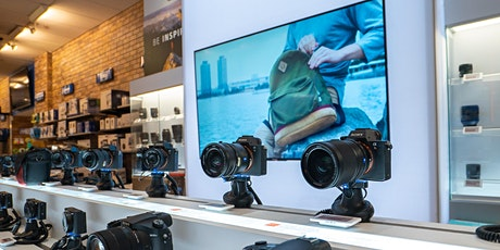 Sony Trade Up Event, Firmware Update, Expert Q&A, and Memory Card Raffle! tickets