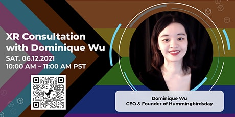 XR Consultations with Dominique Wu tickets