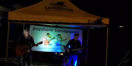 Bayshore Sandpipers on Aders Union Beach Garden Patio tickets