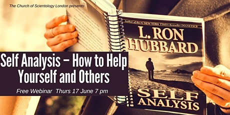 Self Analysis – How to Help Yourself and Others  FREE webinar tickets