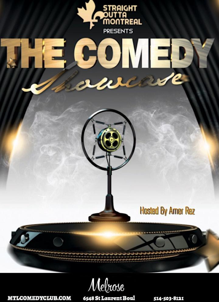 Comedy Showcase( Stand-Up Comedy ) MTLCOMEDYCLUB.COM image