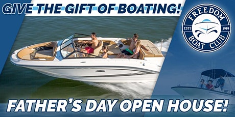 Father's Day Freedom Boating Event! tickets