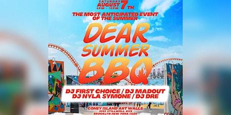Dear Summer BBQ NYC tickets