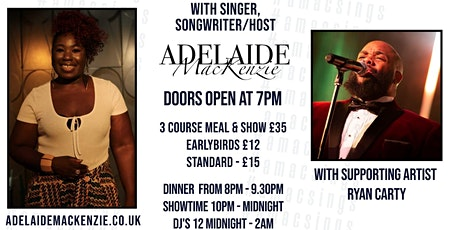 A Night of Simply Me - A Live Music Experience with Adelaide MacKenzie tickets