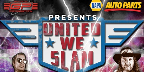 United We SLAM tickets