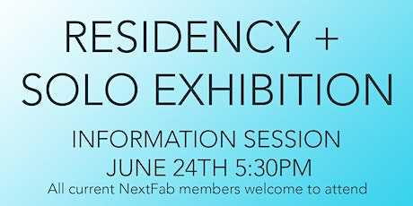 NextFab x DVAA Residency Call for Artists Info Session tickets
