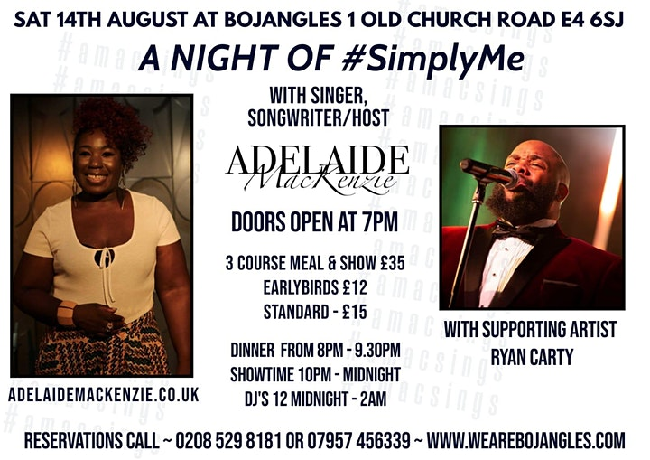 A Night of Simply Me - A Live Music Experience wit image