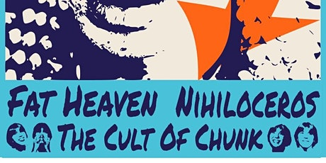 ROOFTOP show! Fat Heaven, Nihiloceros, Cult of Chunk tickets