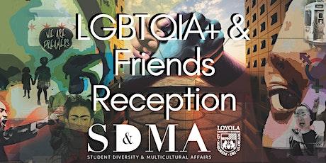 Welcome Week: LGBTQIA+ & Friends Reception tickets