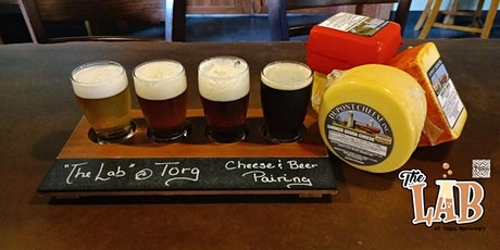 """Torg Brewery """"The Lab"""" Beer and Cheese Pairing tickets"""