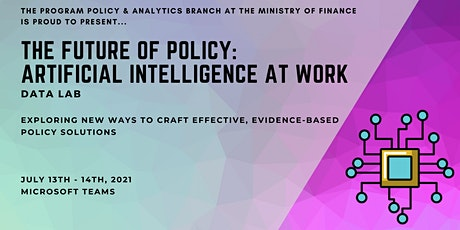 The Future of Policy: Artificial Intelligence (AI) at Work tickets